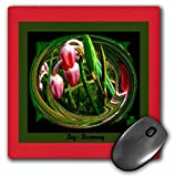 3dRose SmudgeArt Miniature Collection - Bog Rosemary - Mousepad (mp_7056_1)