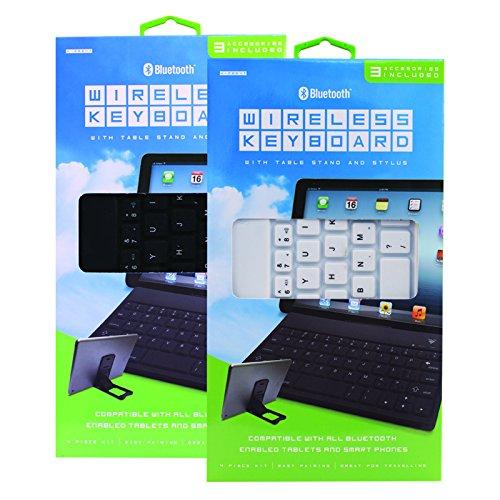 Bluetooth draadloos toetsenbord voor smartphones en tablets- Verkrijgbaar in 2 kleuren
