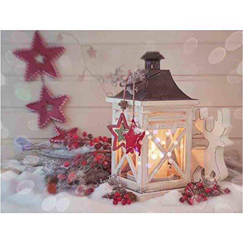 Kit de pintura de diamantes 5D de la serie de Navidad, para manualidades, decoración del hogar, regalos para adultos, niños y niñas (A)