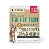 The Honest Kitchen Human Grade Dehydrated Whole Grain Dog Food – Complete Meal or Dog Food Topper – Fish 10 lb (makes 40 lbs)