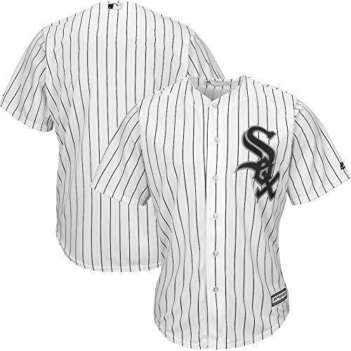 Xiaobudian Sudadera de Uniforme de béisbol Personalizada Personalizada Camiseta de los Chicago White Sox Bordada con Nombre y números para Hombres, Mujeres y jóvenes