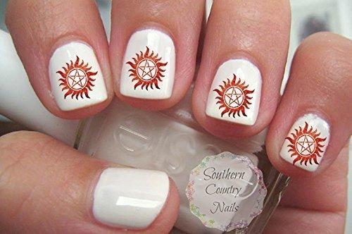 Supernatural Nail Decals Nail Art Design