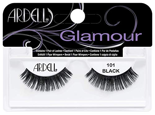 Ardell Natural Style Number 101 Eye Lashes, Demi Black