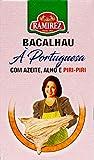 Bacalao à la portuguesa en aceite de oliva, ajo y pili-pili Ramirez