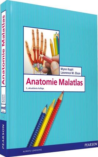 Anatomie Malatlas. Neue Bearbeitung in leserfreundlichem Layout (Pearson Studium - Medizin)