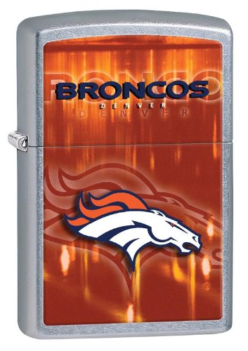 Personalized Zippo Lighter NFL Denver Broncos - Free Laser Engraving