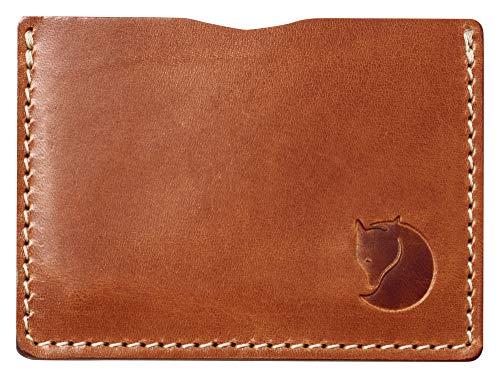 Fjällräven Unisex-Erwachsene Övik Card Holder Karten-etui, Braun (Leather Cognac), 0.5x5.5x9.5 cm (B x H x T)
