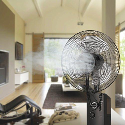Breakling B110 Ventilateur brumisateur humidificateur, Noir