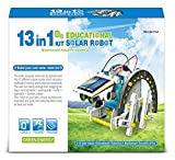 STEM Toys for Boys and Girls Solar Powered 13 in 1 Robot Kit Educational Building Set Solar Rover Motorcycle Motor Boat Space Robot Racing Car and More