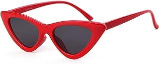 Cat Eye Sunglasses Vintage Retro Plastic Frame Cateye Sunglasses for Women