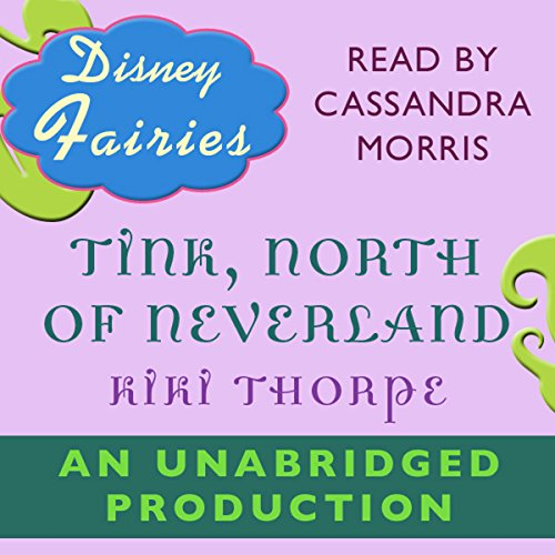 Disney Fairies audiobook cover art