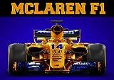 Mclaren F1 Formel 1 Motorsport Vintage Poster Wandkunst