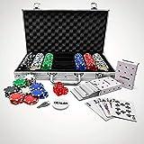 #winning Conjunto de póquer de 300 Piezas con fichas; edición Profesional