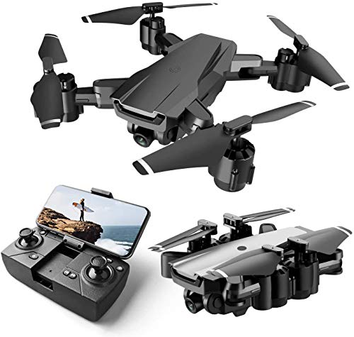 Ascetic Foldable GPS FPV Drone with 1080P HD 4k Camera Live Video for Beginners, RC Quadcopter with GPS Return Home, Follow, Gesture Control, Auto Hover & 5G Wifi Transmission