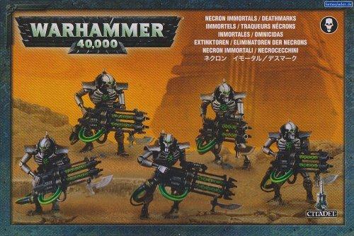 GAMES WORKSHOP 9998880088 en Warhammer 40.000 Necron Immortals/Deathmarks Game