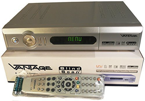 Vantage X 201 S Digitaler Satelliten-Receiver, Silber
