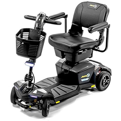 Pride jazzy zt zero turn 8 ; 4-wheel travel mobility scooters, 4-wheel stability meets 3-wheel maneuverability (pewter)