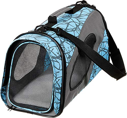 Karlie Smart Carry Bag, Transporttasche Nylon, 54 x 27 x 30 cm, blau