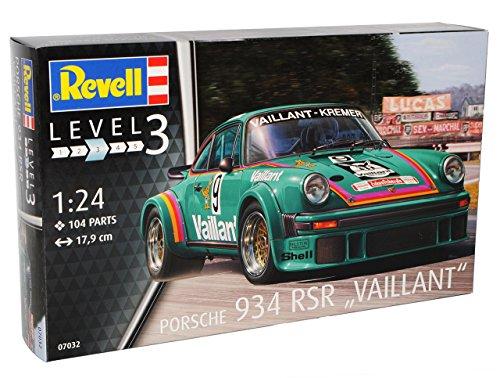Revell Porsche 911 930 G-Modell 934 RSR Vaillant Grün 1974-1989 07032 Bausatz Kit 1/24 1/25 Modell Auto