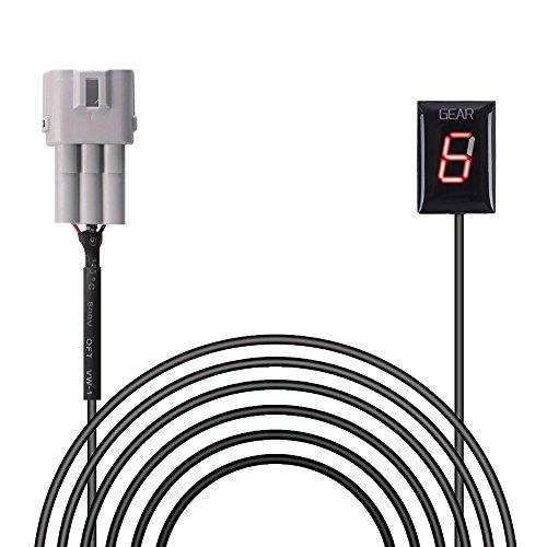 IDEA Kompatibel mit Ganganzeige Motorrad LED Display Schalthebel Sensor Plug & Play SUZUKI
