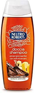 Neutro Roberts Doccia Shampoo Energizzante, Cedro e Zenzero - 250 ml