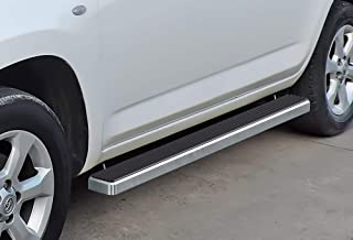 APS iBoard Running Boards 4 inches Custom Fit 2006-2012 Toyota Rav4 Sport Utility (Nerf Bars Side Steps Side Bars)