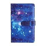 96 bolsillos prácticos gruesos coloridos de 7,62 cm mini película instantánea caja de almacenamiento organizador de fotos de cuero (23)