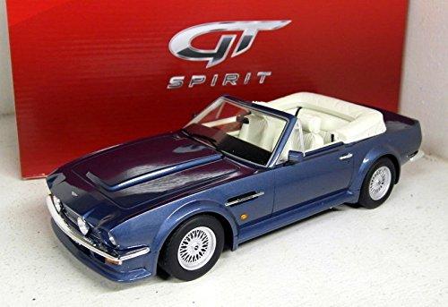 Gt Spirit–GT128–Aston Martin V8Vantage Volante–Escala 1/18–Azul metálico