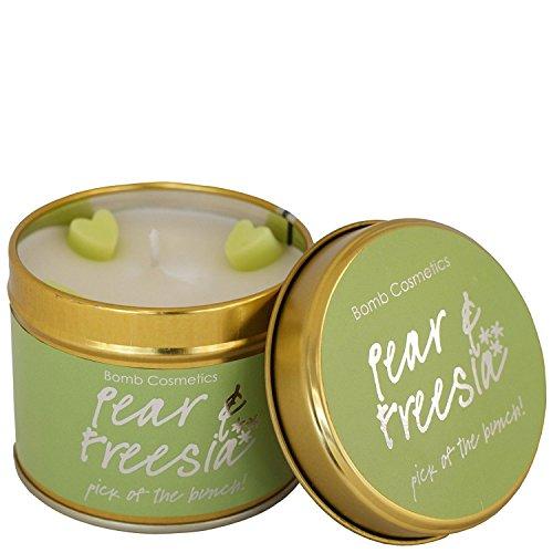 "Bomb Cosmetics ""Pear & Freesia"" Tin Candle"