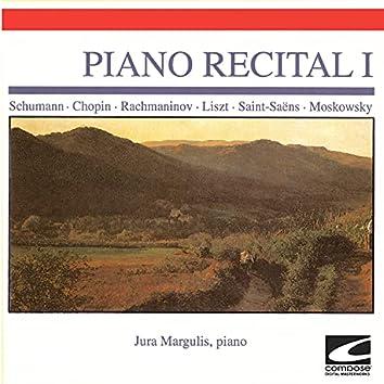 Piano Recital I - Schumann - Chopin - Rachmaninov - Liszt - Saint Saens- Moskowsky