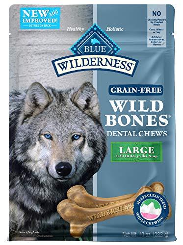 Blue Wilderness Wild Bones Grain Free Dental Chewa