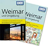 Weimar und Umgebung - DuMont Reise-Taschenbuch mit Extra-Reisekarte und 10 Entdeckungstouren - Bernd Wurlitzer