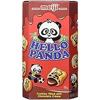 10-Pack Meiji Hello Panda Cookies (2.1oz each, Chocolate)