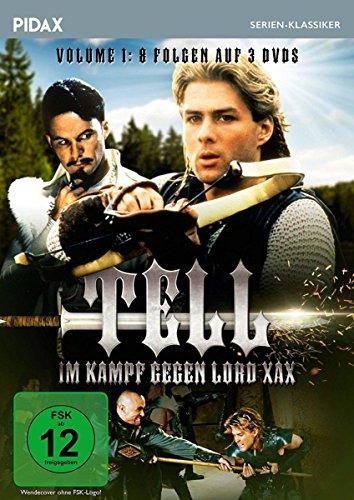 Tell - Im Kampf gegen Lord Xax, Vol. 1 (The Legend of William Tell) / Die ersten 8 Folgen der erfolgreichen Abenteuerserie (Pidax Serien-Klassiker) [3 DVDs]