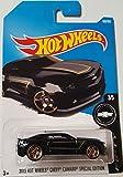 Hot Wheels 2017 Camaro Fifty 2013 Chevy Camaro Special Edition 180/365, Black