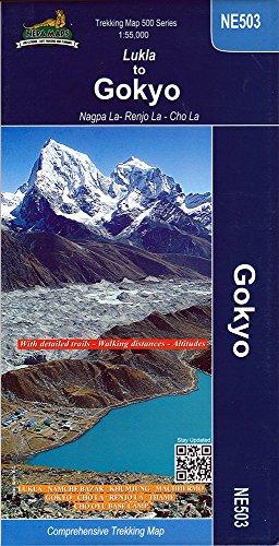 Gokyo Map (Everest Region)