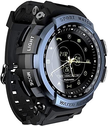 Sport Smart Watch Professionale 5ATM Impermeabile Smart Watch MK28 Bluetooth Messaggio Chiamata Promemoria Outdoor Nuoto Orologio per Android IOS-C