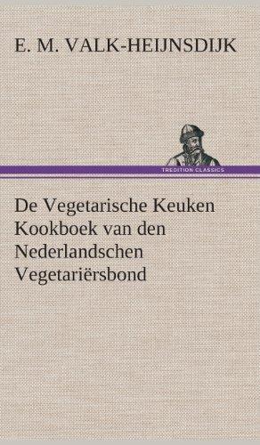 de Vegetarische Keuken Kookboek Van Den Nederlandschen Vegetariërsbond