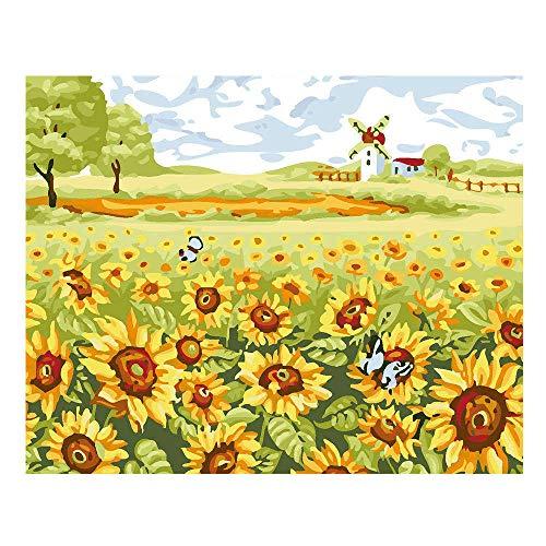 styleinside Peinture d'impression Riche Et Colorée, Peinture de Mur de Maison de Décoration de Tissu Non-tissé sans Cadre, 3