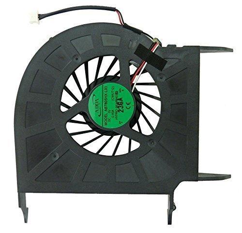 Ventilador de CPU Nuevo reemplazo de ventilador de enfriamiento de CPU para HP Pavilion DV6 DV6Z DV6Z-110 DV6-1000 DV6-1100 DV6-1200 P / N: 532614-001, 532616-001 Accesorios de 3 cables (CPU AMD).
