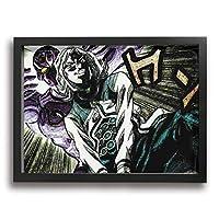 フォトフレーム アートフレーム フレーム ジョジョの奇妙な冒険 アートパネル 壁掛け インテリア 装飾 枠付き ポスター パネル 30*40 ポスターフレーム 飾り絵 現代壁の絵 壁掛け 部屋飾り