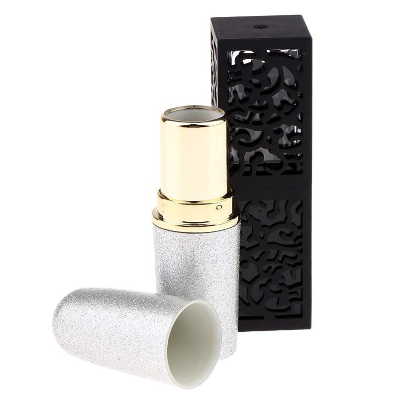 破壊的な短くする間違いなくDYNWAVE 口紅 容器 リップクリームチューブ 口紅チューブ リップクリーム 口紅用詰替え容器 固形香水 口紅
