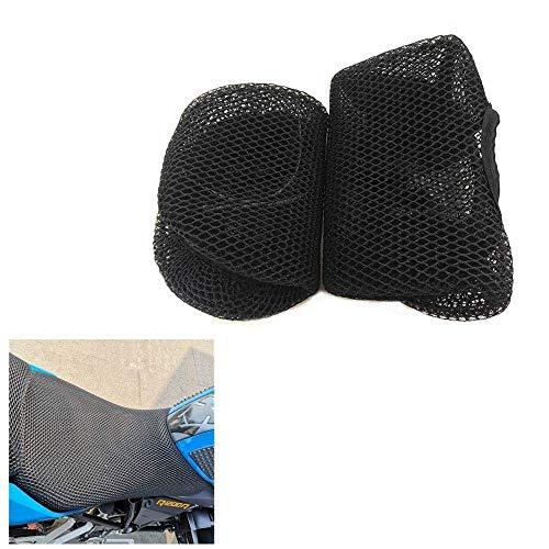 Funda y molduras para asiento de motocicleta de malla de protección, aislamiento transpirable, a prueba de sol, ajuste para BMW R1200R R1200RS R1200Rt R1200GS (R1200rt)