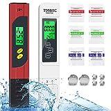 Medidor digital de pH Joycabin TDS EC y pH 4 en 1, juego con pantalla LCD ATC, alta precisión, prueba de calidad del agua, para medir agua potable, etc. otros líquidos