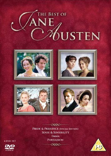 The Best Of Jane Austen (6 Dvd) [Edizione: Regno Unito] [Edizione: Regno Unito]