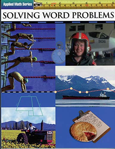 Solving Word Problems: Applied Math Series (Straight Forward Series) (English Edition)