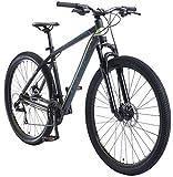 BIKESTAR Bicicleta de montaña Hardtail de Aluminio, 21 Marchas Shimano 29' Pulgadas | Mountainbike con Frenos de Disco Cuadro 19' MTB | Negro