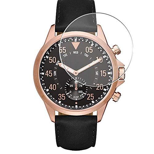Vaxson 3 Unidades Protector de Pantalla de Cristal Templado, compatible con Michael Kors Access Gage smartwatch Smart Watch, 9H Película Protectora
