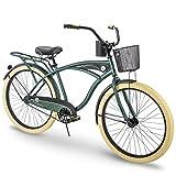 Huffy Cruiser Bike Mens, Holbrook 26 inch, Green