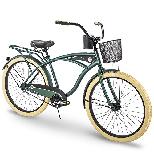 Check Out This Huffy Cruiser Bike Mens, Holbrook 26 inch, Green